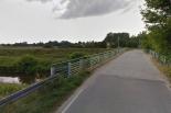 Zamknięcie mostu w Obórkach
