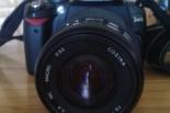 Sprzedam lub zamienię Lustrzankę Nikon D 40 z teleobiektywem Cosina 70-210 mm