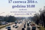 Spotkanie na temat możliwości inwestycji drogowych w DK 79