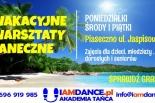 Letnie warsztaty tańca 2016 dla dzieci, młodzieży i dorosłych