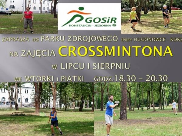 Crossminton w Parku Zdrojowym