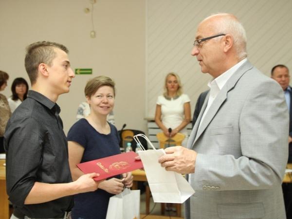 Nagrodzenie Mistrzów Polski w badmintonie