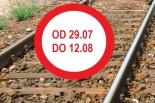 Zamknięcie przejazdu kolejowego w Nowej Iwicznej