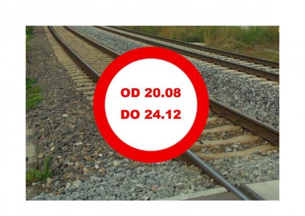 Zamknięcie przejazdu kolejowego przy ul. Karczunkowskiej