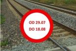 Przejazd kolejowy w Nowej Iwicznej zamknięty dłużej