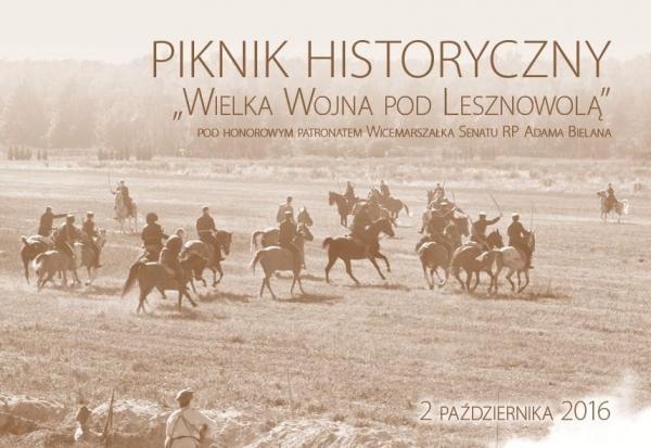 PIKNIK HISTORYCZNY w Lesznowoli