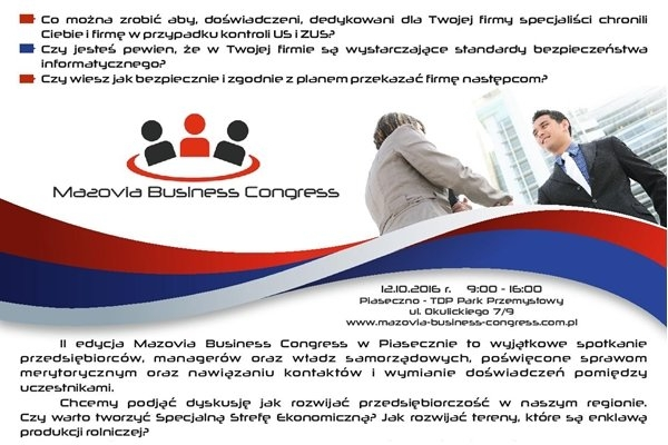 II edycja Mazovia Business Congress