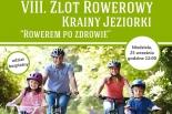 Rowerem po zdrowie – Zlot Rowerowegy Krainy Jeziorki