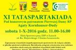 TATASPARTAKIADA - piknik sportowo-rodzinny w Łazach