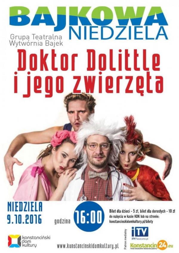 Bajkowa niedziela w Konstancinie - Doktor Dolittle