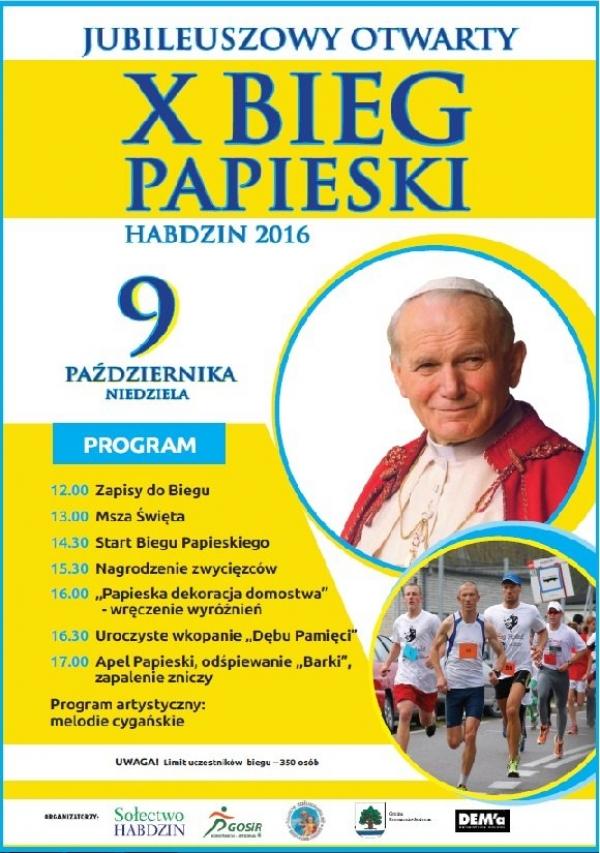 X Bieg Papieski w Konstancinie