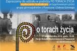 Podróż po torach życia - spektakl gimnazjalistów z gminy piaseczno