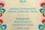 Bal Andrzejkowy Gospoda Zalewajka 26.11.2016r