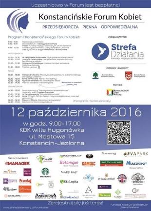 I Konstancińskie Forum Kobiet
