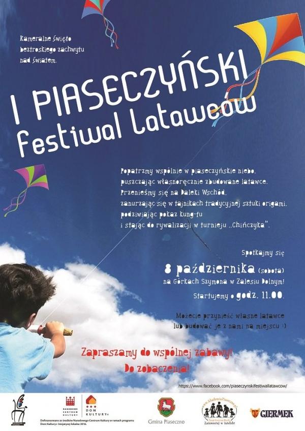 I Piaseczyński Festiwal latawców