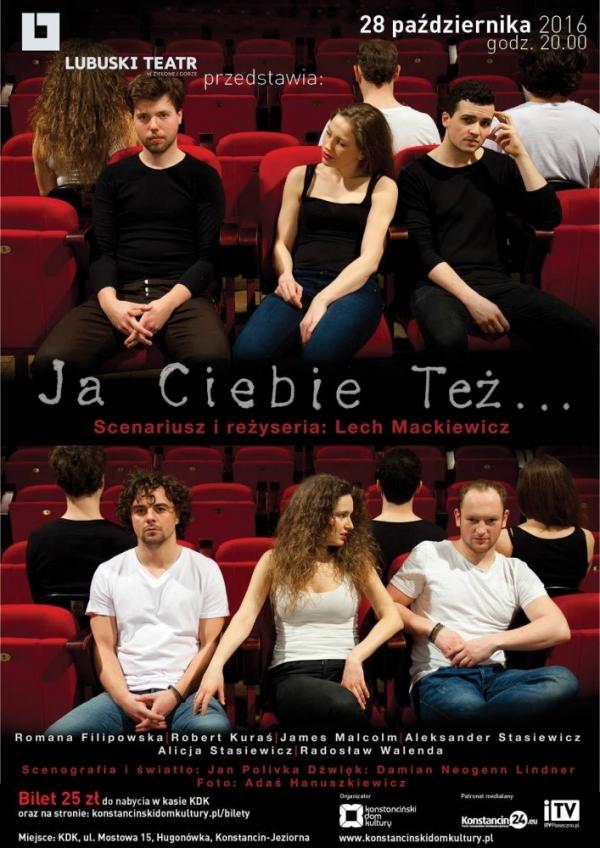 Teatr w Hugonówce - Ja ciebie też