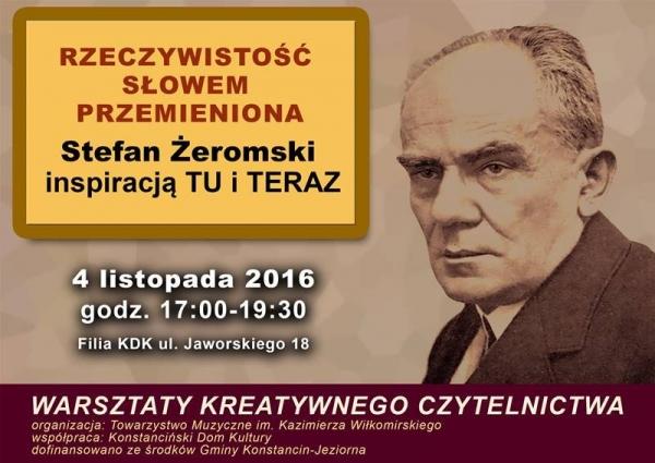 Rodzinne warsztaty czytelnicze związane z twórczością wybitnego pisarza - Stefana Żeromskiego