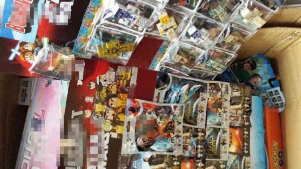 Zabezpieczono podrobione zabawki o wartości ponad 160 tysięcy złotych