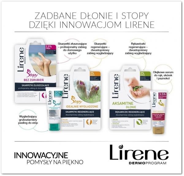 Piękne dłonie i stopy dzięki innowacjom od Lirene