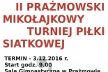 II Prażmowski Mikołajkowy Turniej Piłki Siatkowej