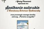 Spotkanie autorskie z Czesławą Ochman-Rułkowską