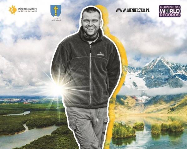 Spotkanie z podróżnikiem Marcinem Gienieczko