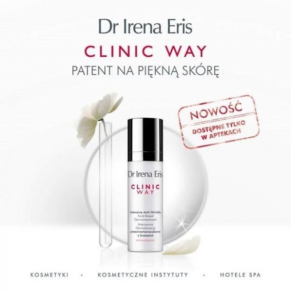 Dr Irena Eris Clinic Way - Dermokuracja przeciwzmarszczkowa z kwasami
