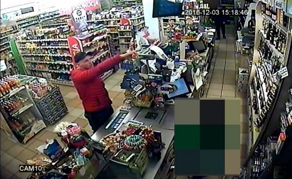 Wizerunek podejrzewanych o kradzież pieniędzy z sejfu