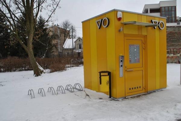Nowa toaleta publiczna przy ul. Bielawskiej już czynna