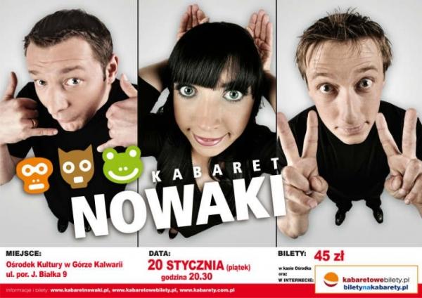Kabaret Nowaki w Górze Kalwarii