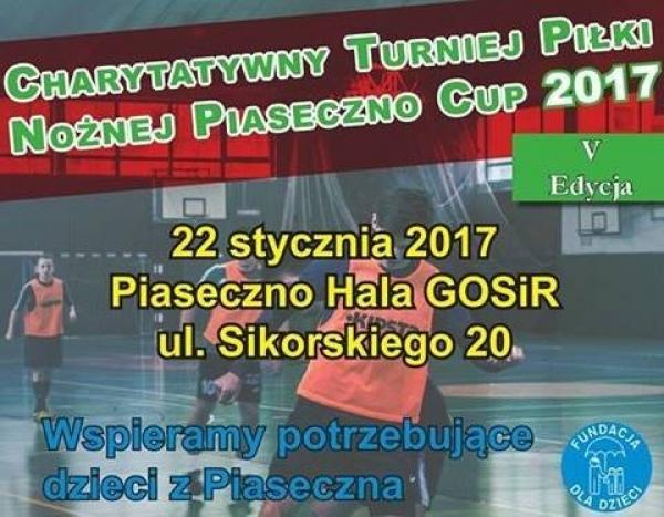 """Charytatywny Turniej Piłki Nożnej """"Piaseczno Cup"""""""