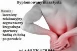 Masaż leczniczy skutecznie z dojazdem Piaseczno