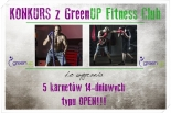 Konkurs z GreenUP Fitness Club