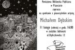Spotkanie z Michałem Dębskim w Piasecznie