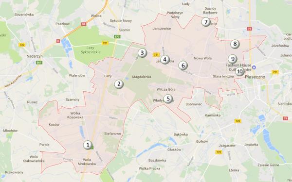 Gmina Lesznowola zainstalowała sensory do pomiaru smogu