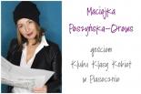 Maciejka Peszyńska-Drews gościem Klubu Klasy Kobiet w Piasecznie