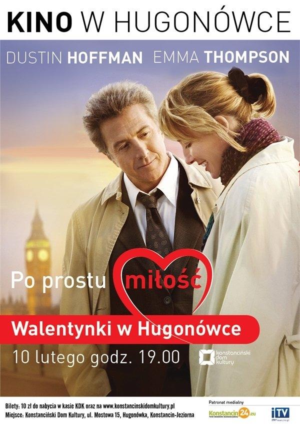 """KINO W HUGONÓWCE: """"Po prostu miłość"""""""
