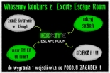 WIOSENNY konkurs  Excite Escape Room