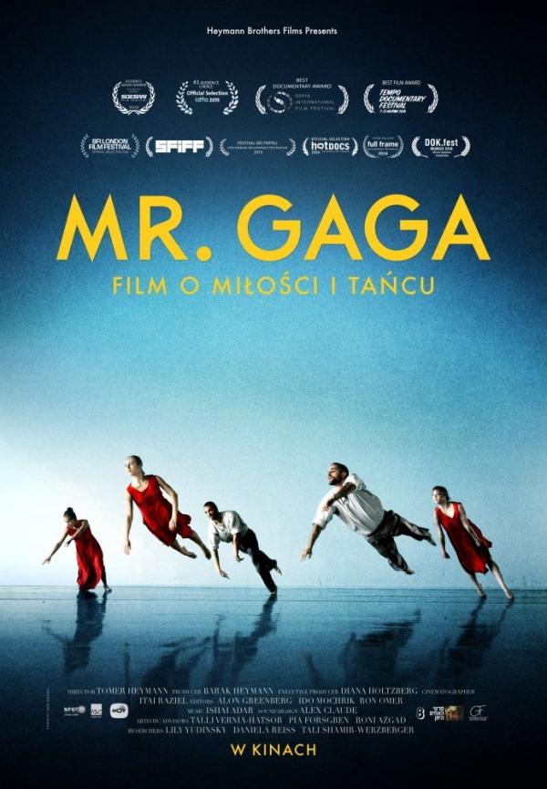 MR. GAGA w Kinie Uciecha w Górze Kalwarii