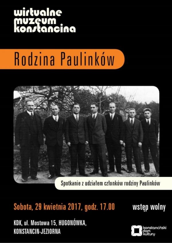 Wirtualne Muzeum Konstancina - Rodzina Paulinków