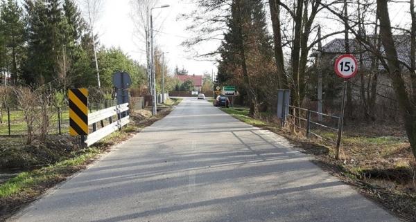 Zamknięcie mostu w Wincentowie
