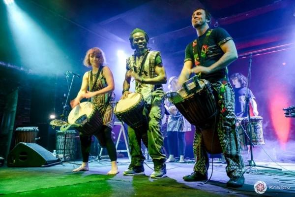 Koncert muzyki afrykańskiej