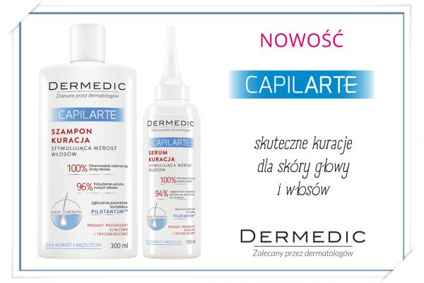 CAPILARTE skuteczne kuracje dla skóry głowy i włosów od Dermedic