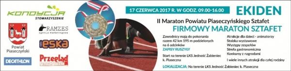 II Maraton Powiatu Piaseczyńskiego Sztafet