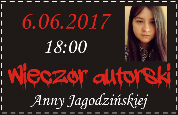 Mroczny wieczór autorski Anny Jagodzińskiej