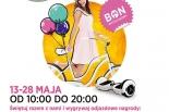 Świętuj urodziny Centrum Handlowego Auchan Piaseczno - zrób zakupy, wygraj wakacje