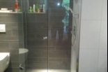 PANELE KUCHENNE, Kabiny prysznicowe, półki - SZKLARZ