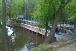 Kładka przez Jeziorkę w Parku Zdrojowym zamknięta z powodu remontu