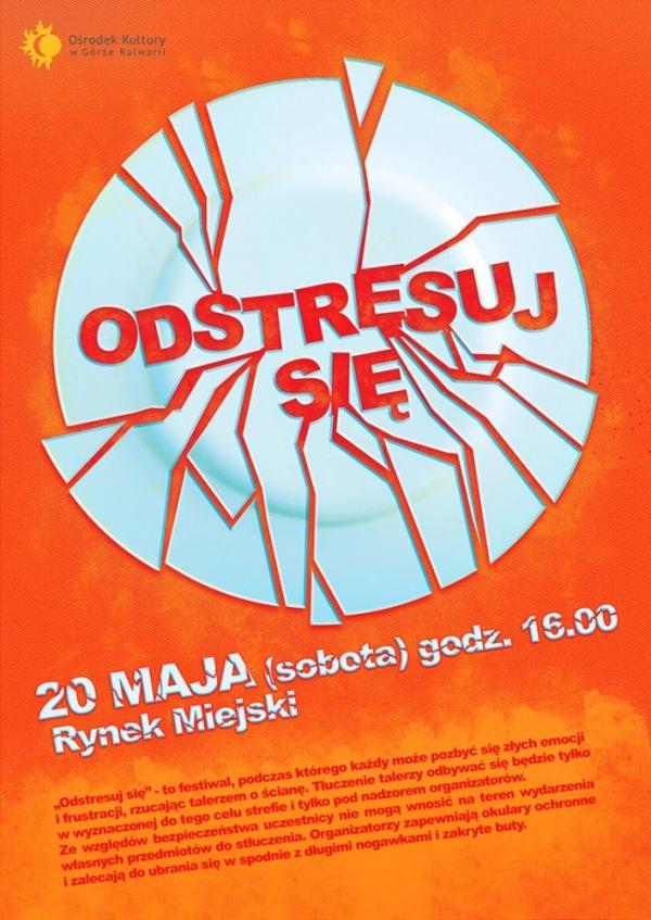 """Festiwal """"Odstresuj się"""" w Górze Kalwarii"""
