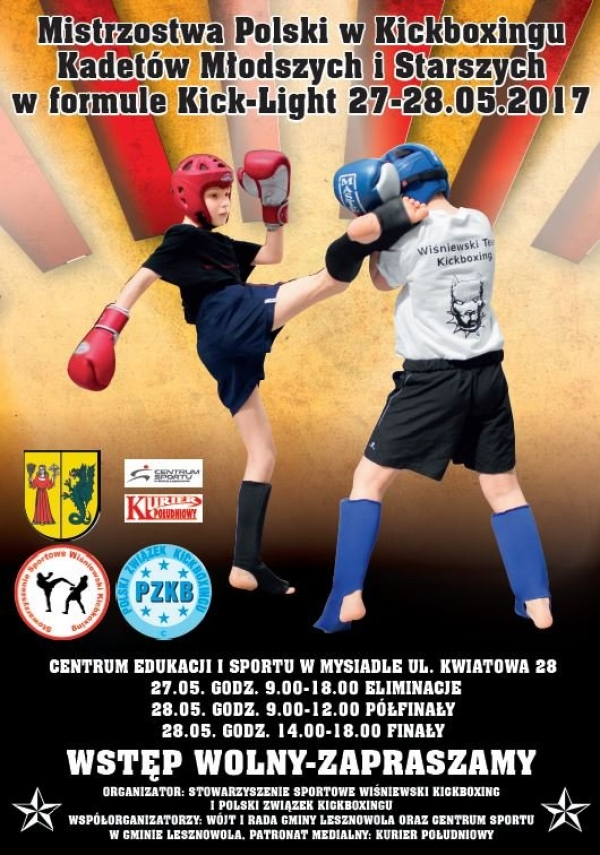 Kickboxing w Mysiadle